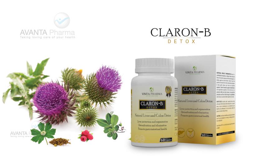 Claron-b Thải độc gan tại nha