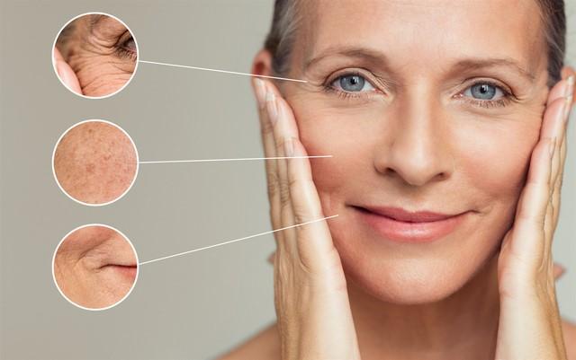 Da là cơ quan đầu tiên báo hiệu sự lão hóa của phụ nữ