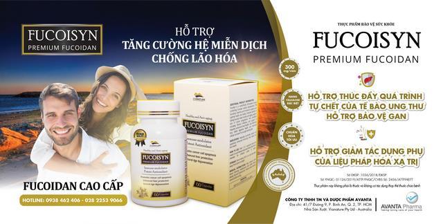 Thực phẩm hỗ trợ điều trị ung thư FUCOISYN (Premium Fucoidan)