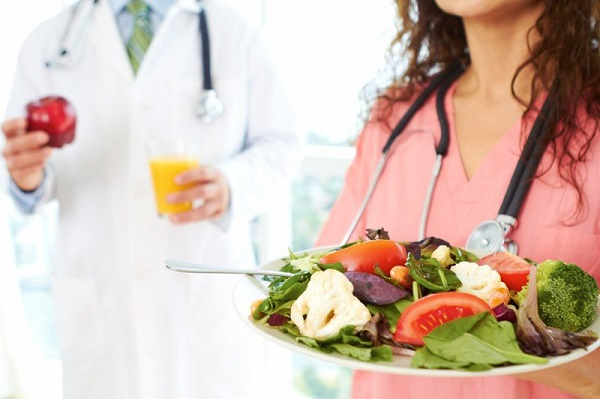 chế độ ăn cho người ung thư phổi