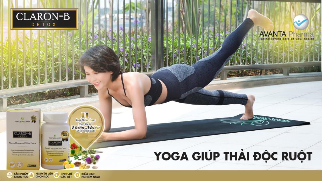 yoga giúp thải độc ruột
